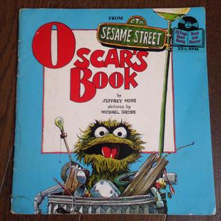 セサミストリート(SESAME STREET)のセサミストリート オスカー オスカーズブック レトロ レコード 洋書(絵本/児童書)