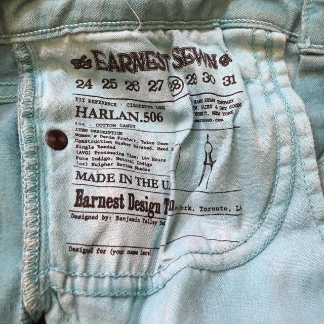 earnest sewn(アーネストソーン)のアーネストソーン可愛い✨夕焼けカラーデニム  レディースのパンツ(デニム/ジーンズ)の商品写真