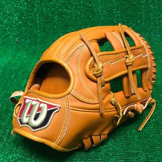 ウィルソンスタッフ(Wilson Staff)の限界値!ウィルソン 硬式用グローブ 内野手用 定価59,400円 新品未使用(グローブ)