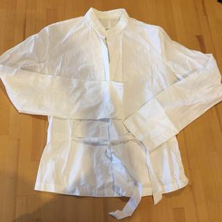 マルタンマルジェラ(Maison Martin Margiela)のヒンガーさまのシャツジャケット(ノーカラージャケット)