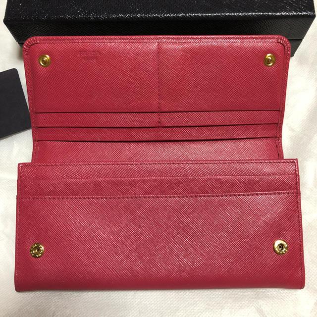 PRADA(プラダ)のプラダPRADA長財布✴︎値下げしました レディースのファッション小物(財布)の商品写真
