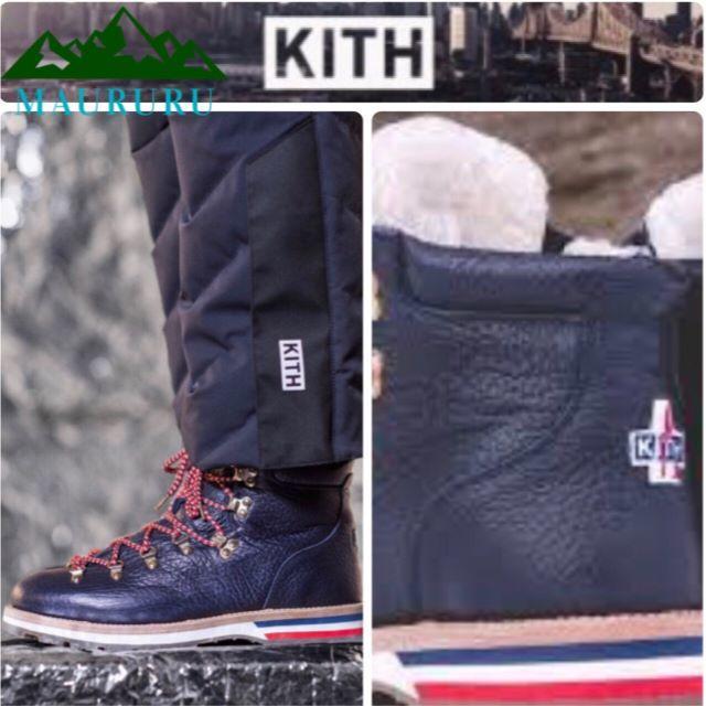 MONCLER(モンクレール)の★新品 KITH×Moncler キス モンクレール ピークマウンテンブーツ メンズの靴/シューズ(ブーツ)の商品写真