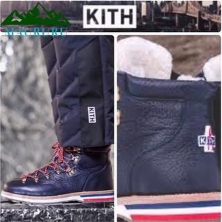 モンクレール(MONCLER)の★新品 KITH×Moncler キス モンクレール ピークマウンテンブーツ(ブーツ)