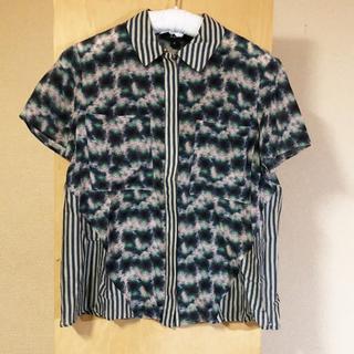 スノ(SUNO)のSUNO(スノ)シルク100% シャツ(シャツ/ブラウス(半袖/袖なし))