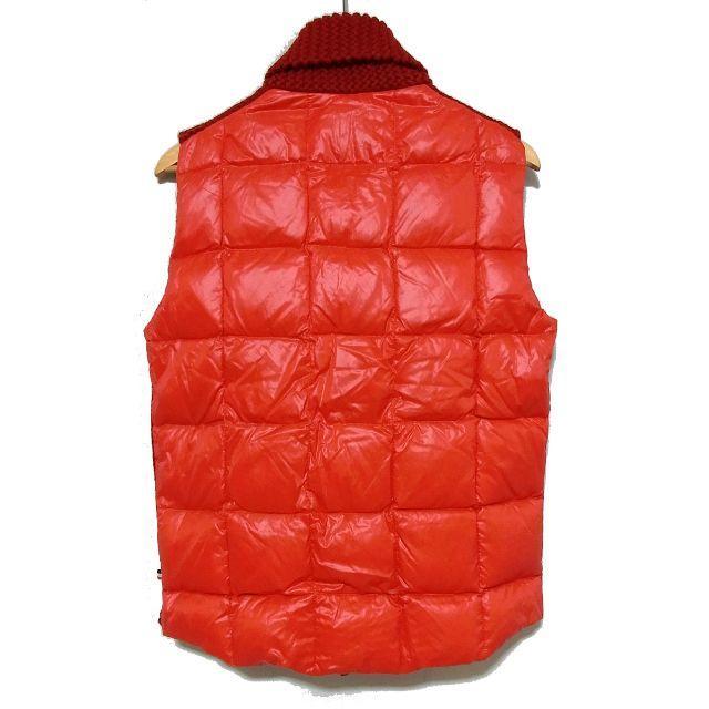 MONCLER(モンクレール)の国内正規品 モンクレール カウチン ニット 切替 ダウンベスト M ノルディック メンズのジャケット/アウター(ダウンベスト)の商品写真