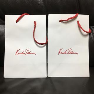 ケサランパサラン(KesalanPatharan)のケサランパサラン ショッパー 紙袋 2枚セット(ショップ袋)