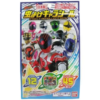 宇宙戦隊キュウレンジャー  虫よけキャラシール 45枚入(旅行用品)
