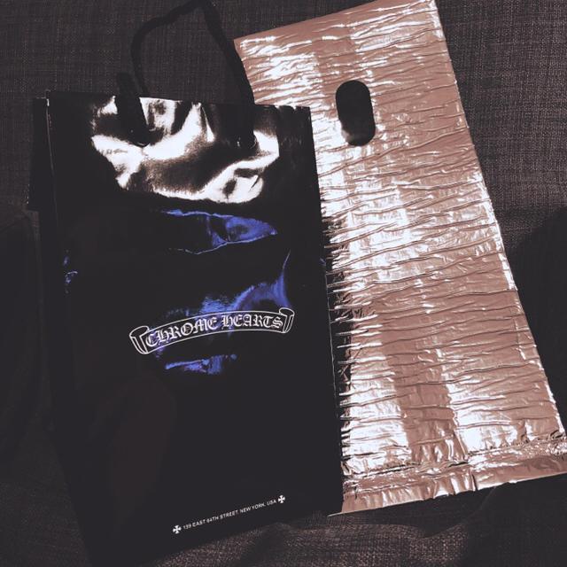 Chrome Hearts(クロムハーツ)のChrome Hearts ショップ袋 クロム ハーツ 保冷袋 レア  メンズのアクセサリー(リング(指輪))の商品写真