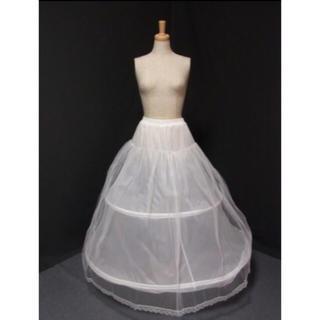 15ca70ea279f5 ウェディングドレス♡パニエ♡(ウェディングドレス)