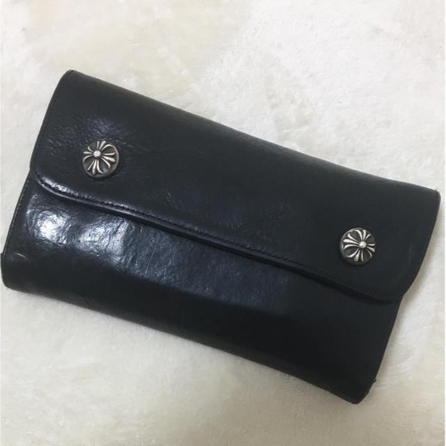 Chrome Hearts(クロムハーツ)のクロムハーツ  ウェーブ 長財布 メンズのファッション小物(長財布)の商品写真