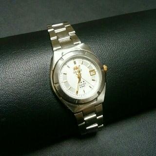 オリエント(ORIENT)の【美品】ORIENT  オリエント レディス クォーツ腕時計(腕時計)