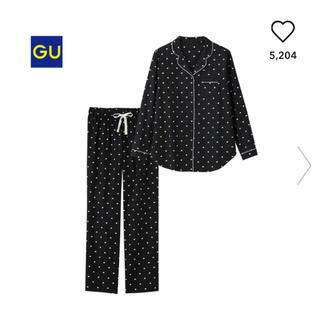 ジーユー(GU)のGU パジャマ ブラック(パジャマ)