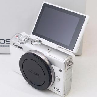 キヤノン(Canon)の★新品未使用品★スマホ転送機能付♪キヤノン EOS M100(ミラーレス一眼)