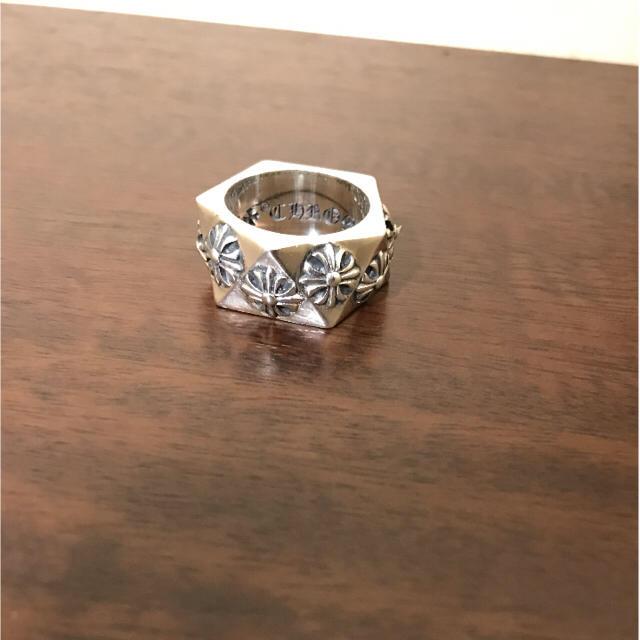 Chrome Hearts(クロムハーツ)のクロムハーツ ペンタゴン リング CHプラス メンズのアクセサリー(リング(指輪))の商品写真