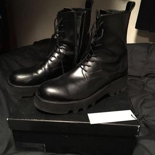 ラッドミュージシャン(LAD MUSICIAN)のLAD MUSICIAN ハイカット ブーツ 靴 サイドジップ(ブーツ)