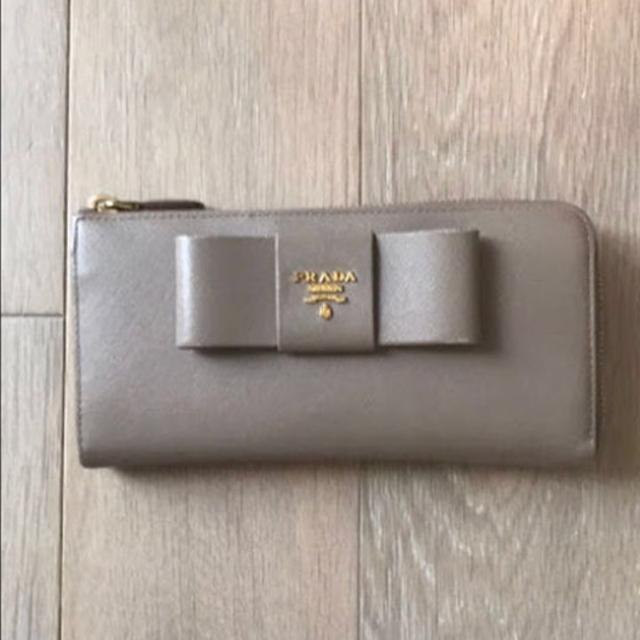 PRADA(プラダ)のプラダ サフィアーノ 長財布 レディースのファッション小物(財布)の商品写真