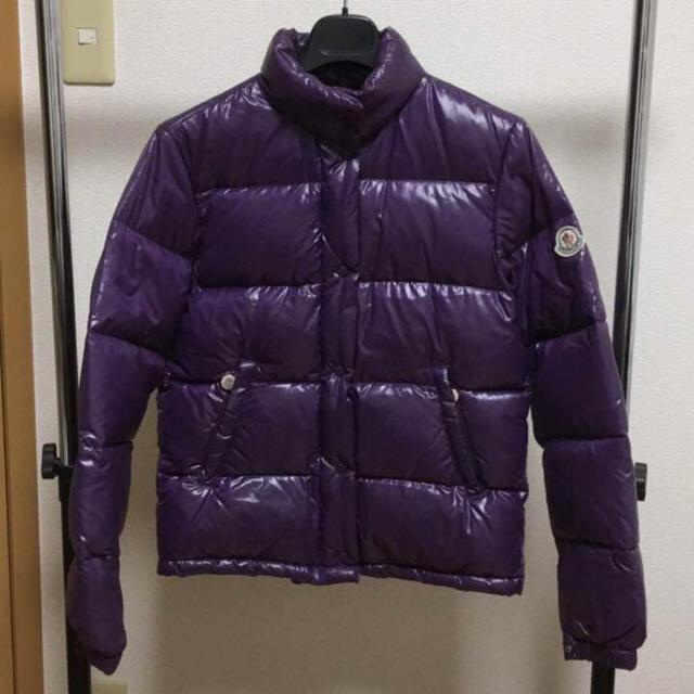 MONCLER(モンクレール)の美品 モンクレール VENIS ベニス パープルダウン サイズ00 メンズのジャケット/アウター(ダウンジャケット)の商品写真