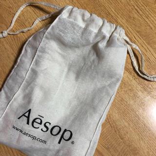 イソップ(Aesop)の【eeeさま専用】Aesop 巾着 2枚(ショップ袋)