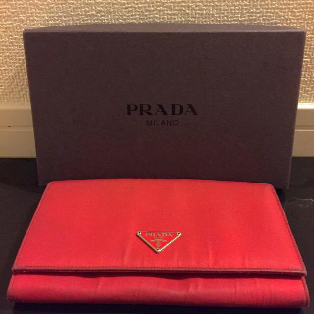 PRADA(プラダ)のお値下げ♡ PRADA  長財布 レディースのファッション小物(財布)の商品写真
