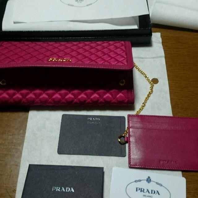PRADA(プラダ)の新品未使用PRADA財布 レディースのファッション小物(財布)の商品写真