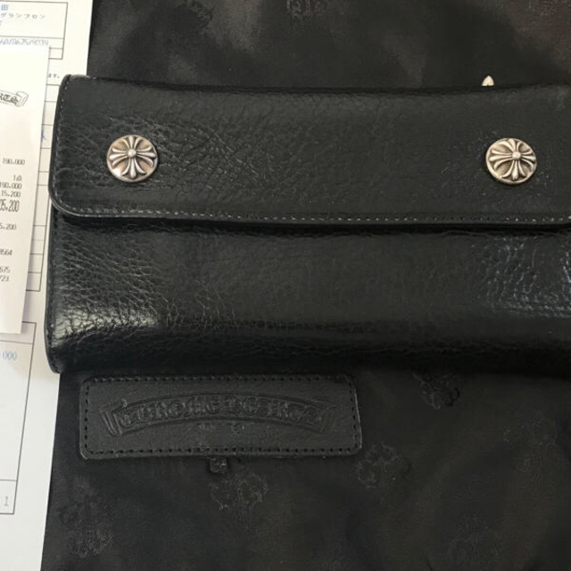 Chrome Hearts(クロムハーツ)のクロムハーツ WAVEウォレット クロスボール メンズのファッション小物(長財布)の商品写真