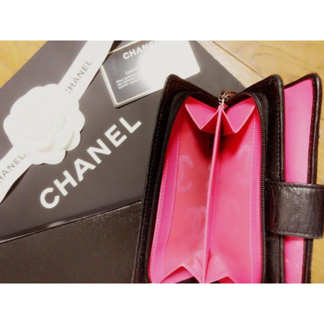 CHANEL(シャネル)のCHANEL 財布 正規品証明カード付 大人気 完売品 レディースのファッション小物(財布)の商品写真