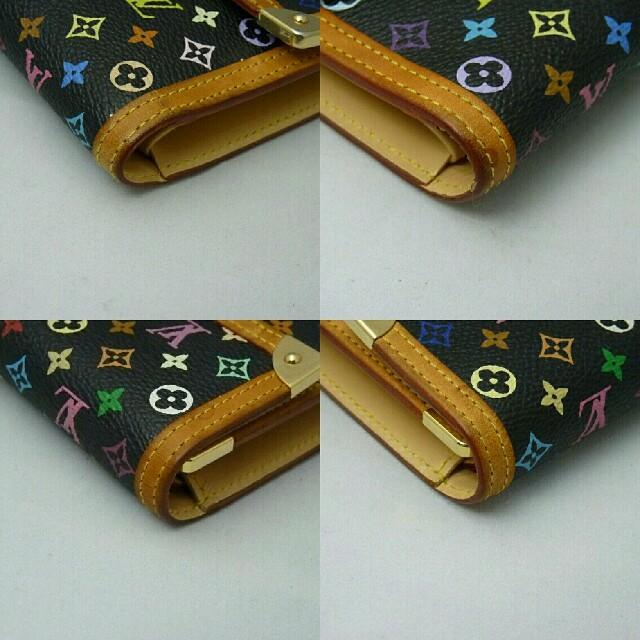 LOUIS VUITTON(ルイヴィトン)のルイヴィトン マルチカラー ポルトトレゾール・インターナショナル 三つ折り長財布 レディースのファッション小物(財布)の商品写真
