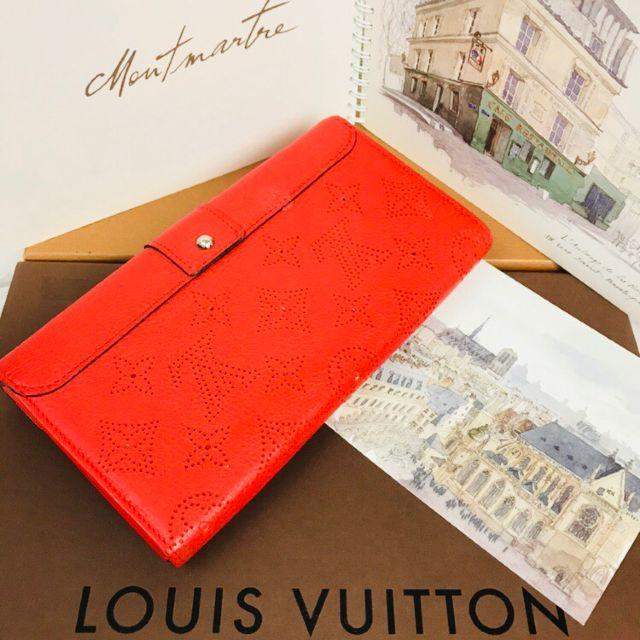 LOUIS VUITTON(ルイヴィトン)の極美品❤正規品❤鑑定済み❤️イリス❤マヒナ❤長財布❤️s508 レディースのファッション小物(財布)の商品写真