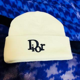 ディオール(Dior)のディオール ニット帽(ニット帽/ビーニー)