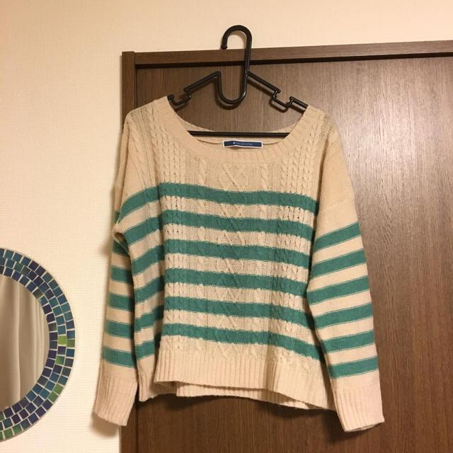 THE EMPORIUM(ジエンポリアム)のボーダーニット♡ レディースのトップス(ニット/セーター)の商品写真