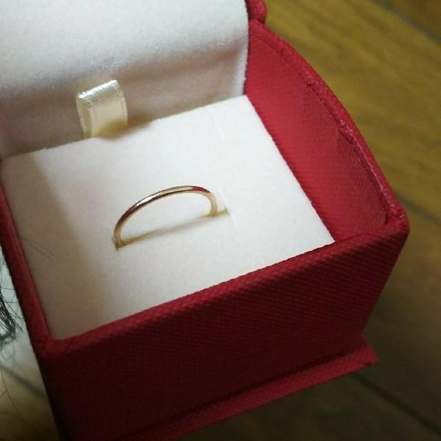 AURORA GRAN(オーロラグラン)のAURORAGRAN K10 イエローゴールド プレーンリングM #9 レディースのアクセサリー(リング(指輪))の商品写真
