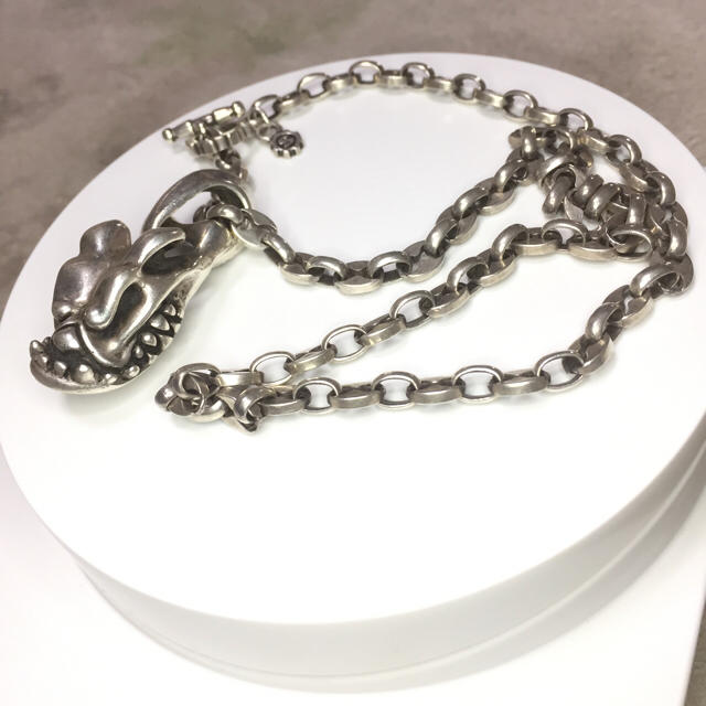 Chrome Hearts(クロムハーツ)のスターリンギア☆STARLINGEAR ラージ アンカーチェーン silver メンズのアクセサリー(ネックレス)の商品写真