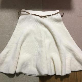 ストラ(Stola.)のstolaニットスカート(ひざ丈スカート)