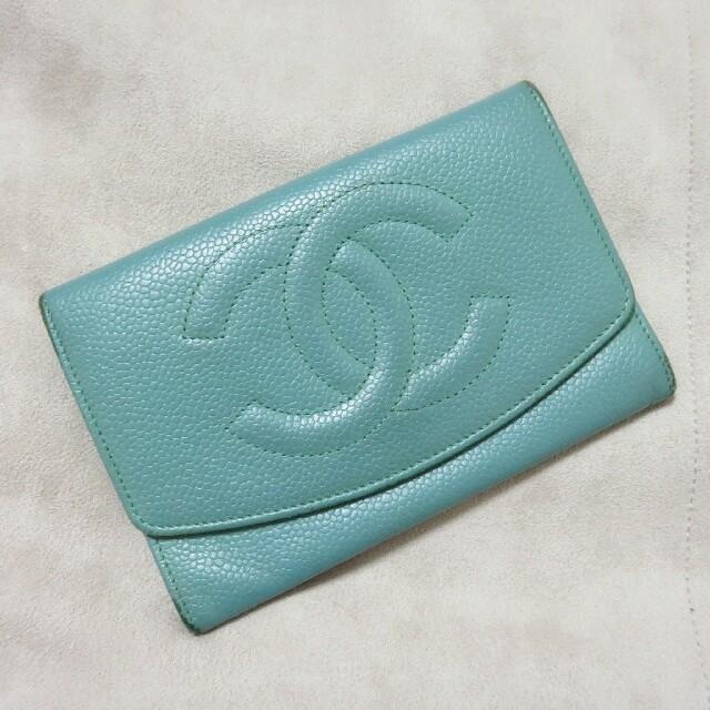 CHANEL(シャネル)の正規品 シャネル 財布 レディースのファッション小物(財布)の商品写真