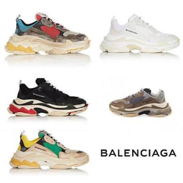 Balenciaga(バレンシアガ)の求む   バレンシアガ  triple s メンズの靴/シューズ(スニーカー)の商品写真