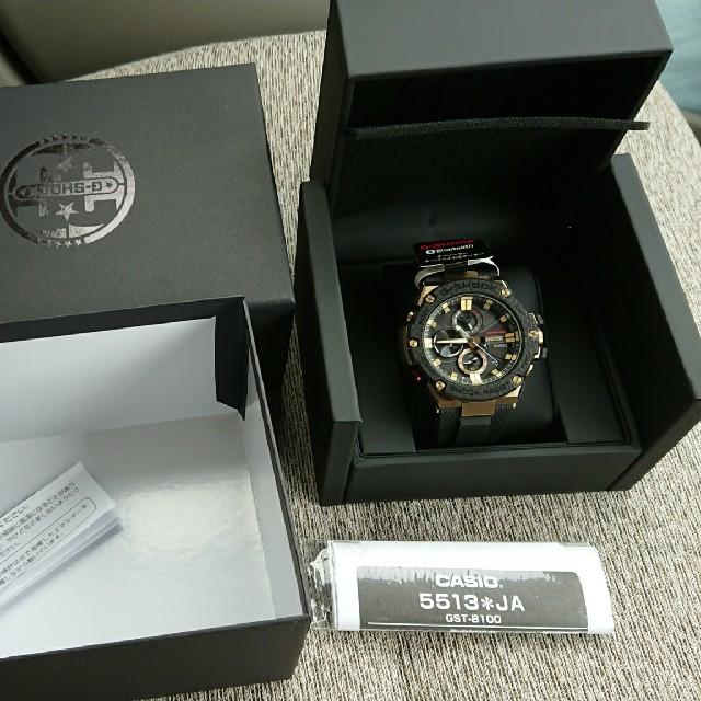 GST-B100TFB-1AJR  美品 g shock メンズの時計(腕時計(デジタル))の商品写真