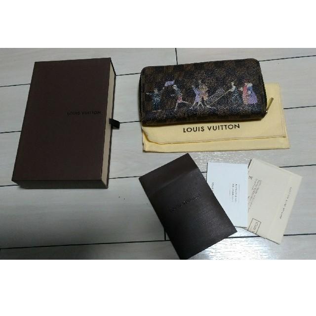 LOUIS VUITTON(ルイヴィトン)のN63004 ダミエジッピーウォレット レディースのファッション小物(財布)の商品写真