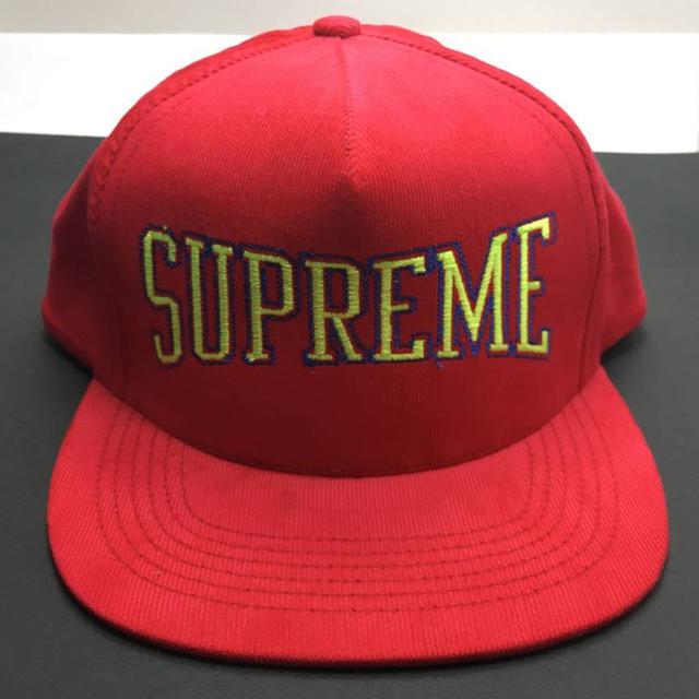 Supreme(シュプリーム)の新品 シュプリーム supreme 5panel cap ロゴ キャップ メンズの帽子(キャップ)の商品写真