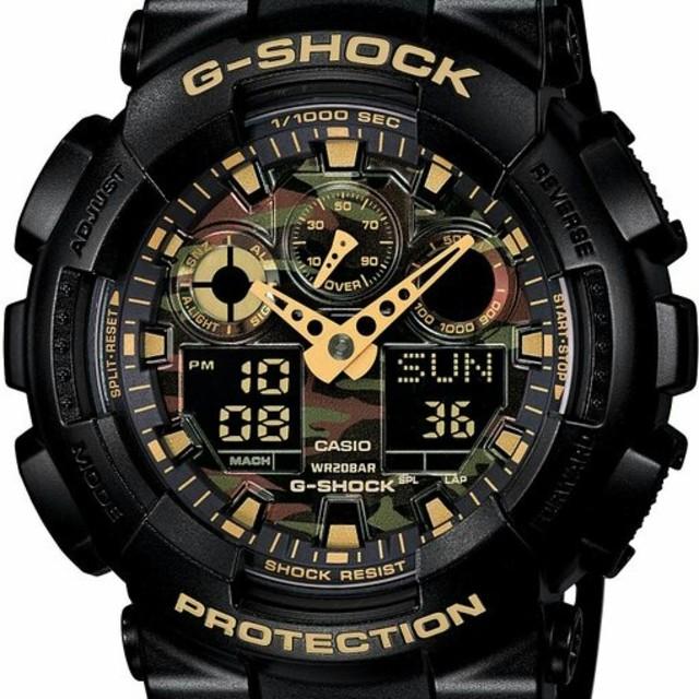 カシオ CASIO 腕時計 G-SHOCK GA-100CF-1A9JF メンズの時計(腕時計(デジタル))の商品写真