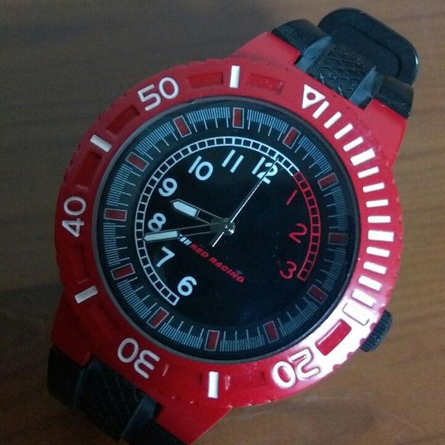 RED RACING メンズ腕時計☆電池交換済み メンズの時計(その他)の商品写真
