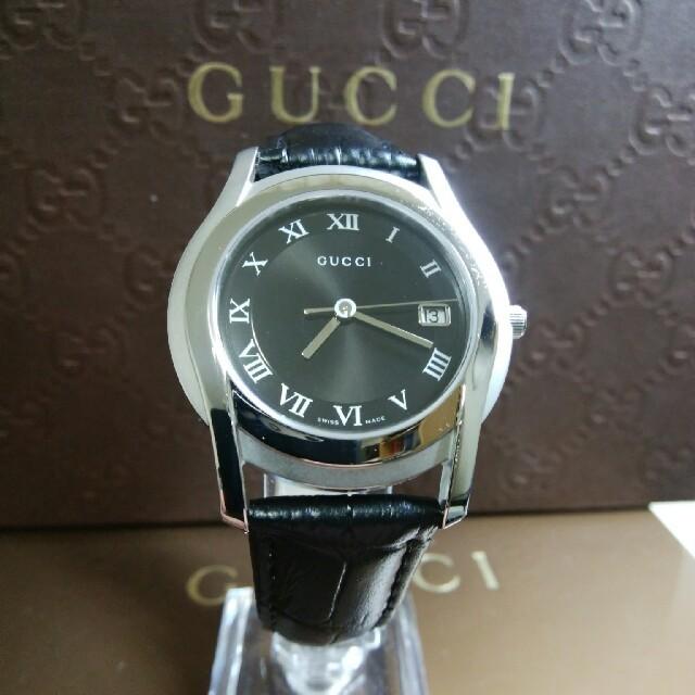 Gucci(グッチ)の超美品 グッチ 腕時計 メンズの時計(腕時計(アナログ))の商品写真