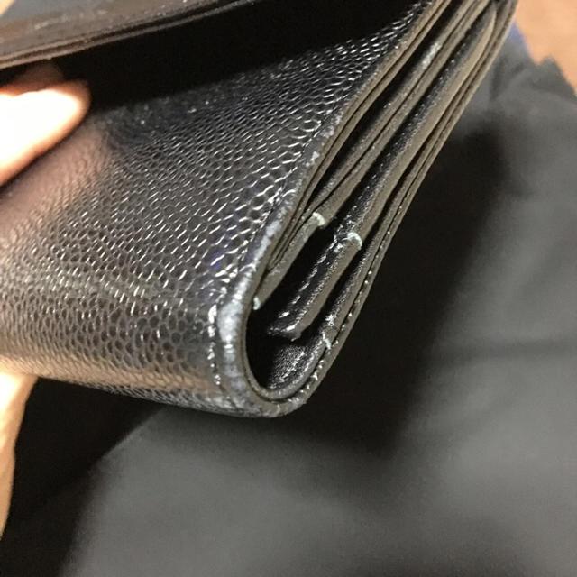 CHANEL(シャネル)のCHANEL ダブルホック長財布 レディースのファッション小物(財布)の商品写真