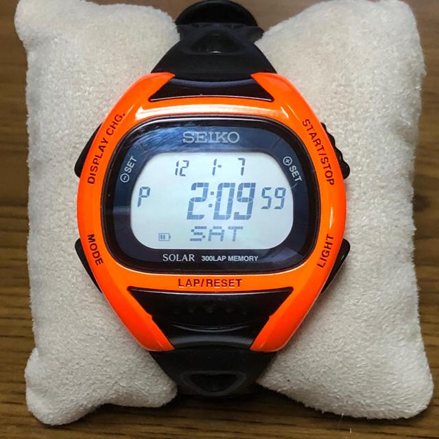 CASIO(カシオ)の千 1712 SEIKO セイコー スーパーランナーズ 限定モデル 中古品 メンズの時計(腕時計(デジタル))の商品写真