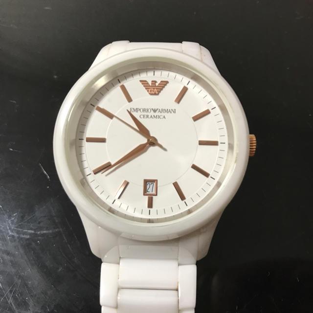 Emporio Armani(エンポリオアルマーニ)のアルマーニ メンズの時計(腕時計(アナログ))の商品写真