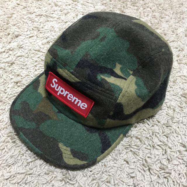 Supreme(シュプリーム)の早い者勝ち!シュプリーム 迷彩 キャップ ボックスロゴ 新品未使用 メンズの帽子(キャップ)の商品写真