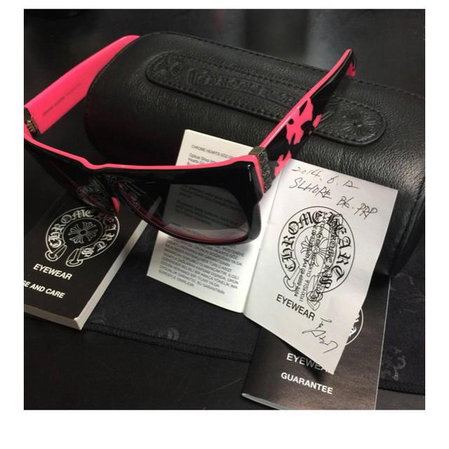 Chrome Hearts(クロムハーツ)のクロムハーツ サングラス レア 本物 芸能人多数 入手困難 新品未使用 メンズのファッション小物(サングラス/メガネ)の商品写真