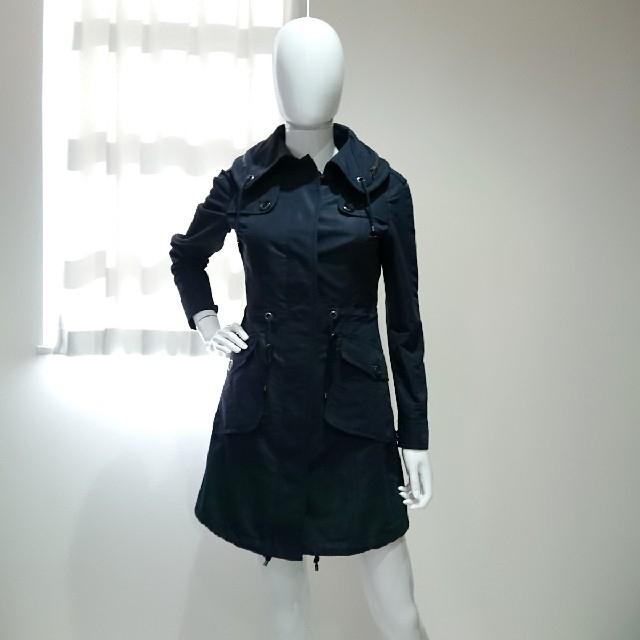 BURBERRY(バーバリー)のバーバリーロンドン♥裏地チェック 上品コート レディースのジャケット/アウター(ロングコート)の商品写真