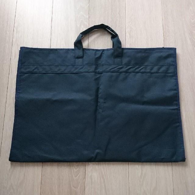 SHIPS(シップス)の【未使用品】ネイビー ガーメントケース スーツカバー ガーメントバッグ メンズのバッグ(トラベルバッグ/スーツケース)の商品写真