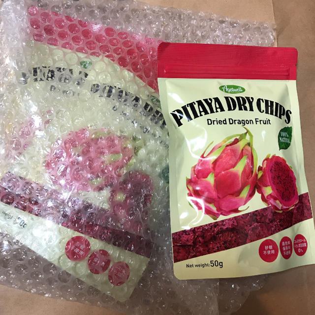 乾燥♡ドラゴンフルーツ 50g入り 3袋 食品/飲料/酒の食品(フルーツ)の商品写真