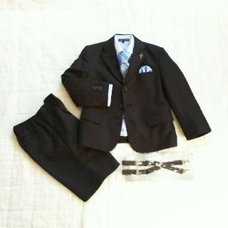 男の子フォーマルスーツ8点セット  120サイズ(ドレス/フォーマル)